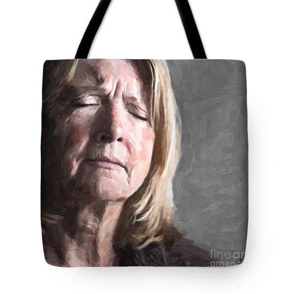 Empathy Tote Bag by Paul Davenport