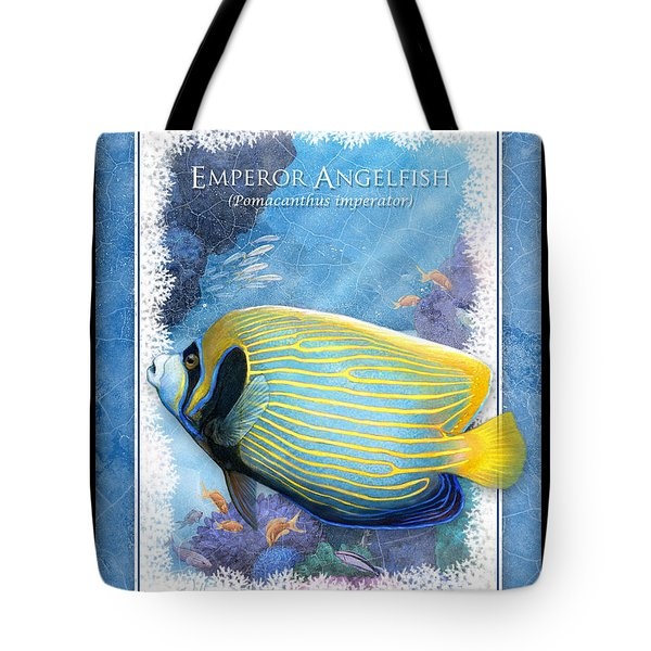 Emperor Angelfish Tote Bag