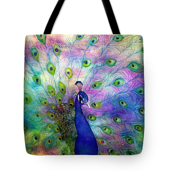 Emperor Peacock Tote Bag