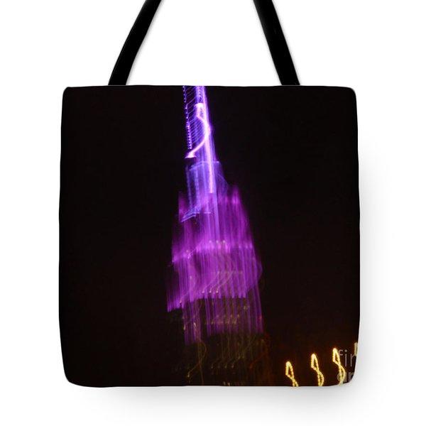 Empire Light Blur Tote Bag