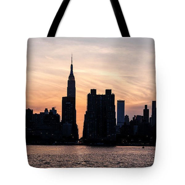 Empire On 5th Avenue Tote Bag