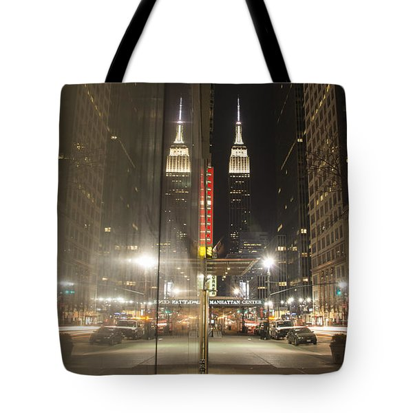 Empire Reflections Tote Bag