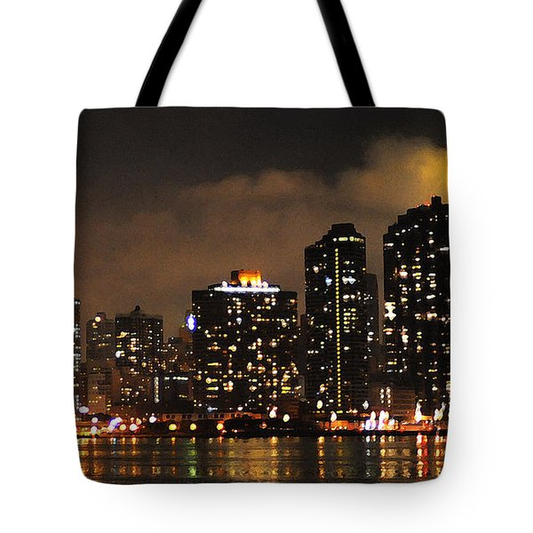 Empire State Building From Long Island City Tote Bag