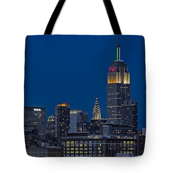 Empire State Tote Bag by Susan Candelario