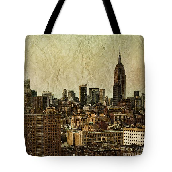 Empire Stories Tote Bag by Andrew Paranavitana
