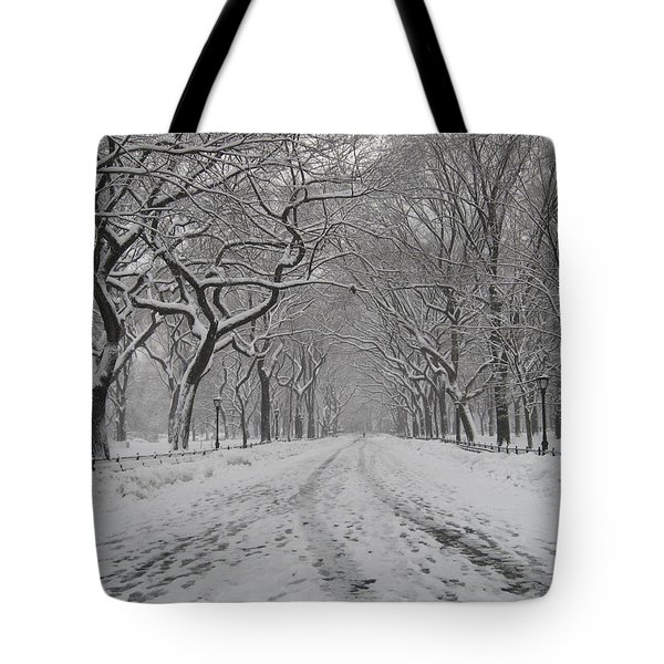 Empty Mall Walk Tote Bag by Catie Canetti