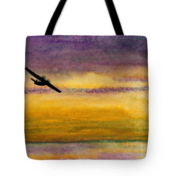 Empty Ocean Ahead - Pby Catalina Flying Boat From Wwii Tote Bag