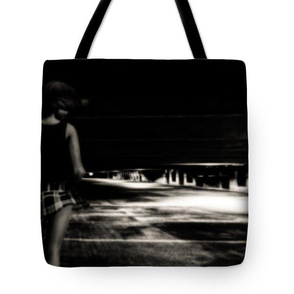 Empty Spaces Tote Bag by Bob Orsillo