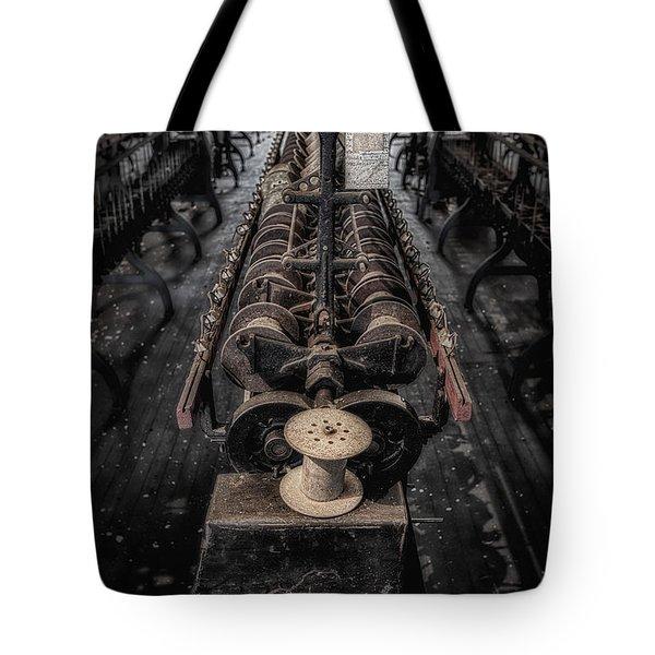 Empty Spool Tote Bag by Susan Candelario