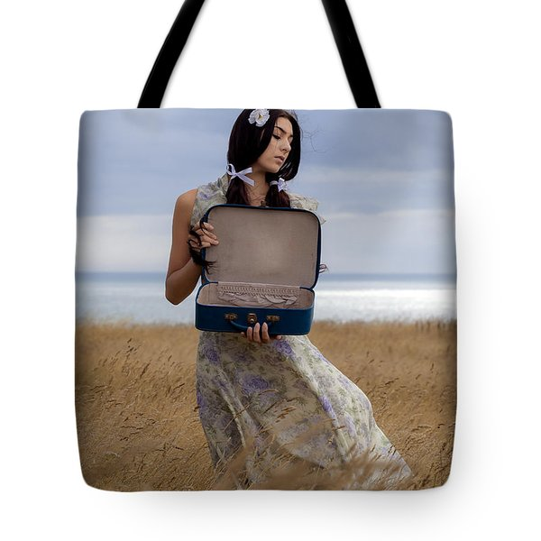 Empty Suitcase Tote Bag by Joana Kruse