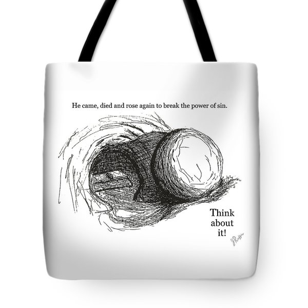 Empty Tomb Tote Bag by Jerry Ruffin