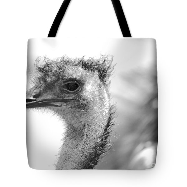 Emu - Black And White Tote Bag