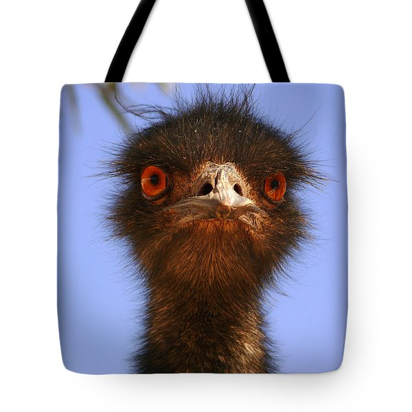 Emu Upfront Tote Bag by Evelyn Tambour