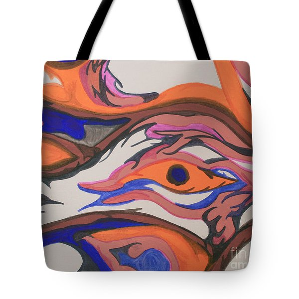 En Formation Tote Bag