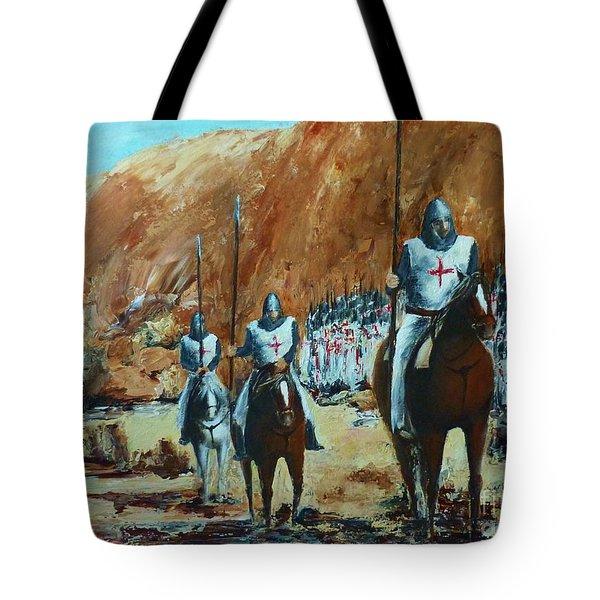 En Route To Battle Tote Bag