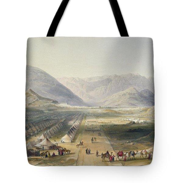 Encampment Of The Kandahar Army Tote Bag
