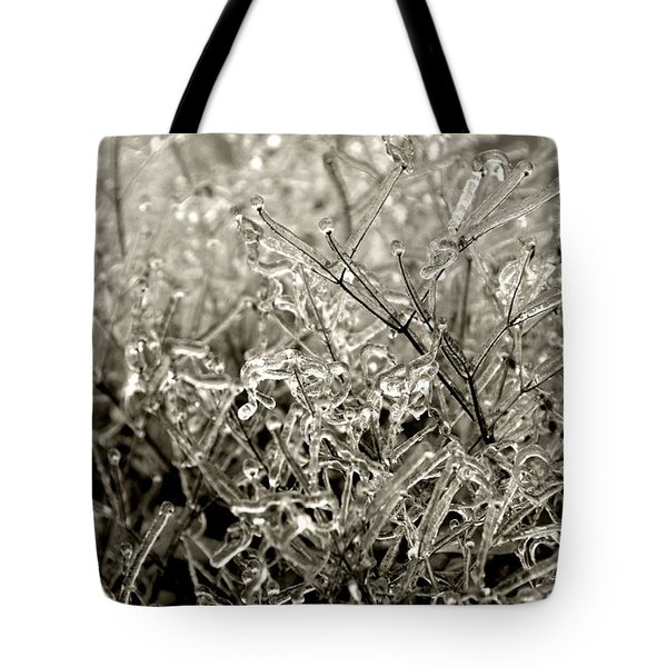 Encased In Ice IIi Tote Bag