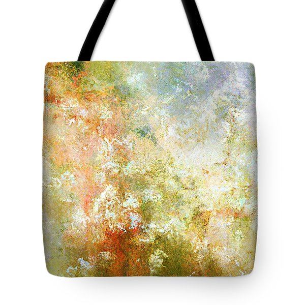 Enchanted Blossoms - Abstract Art Tote Bag by Jaison Cianelli