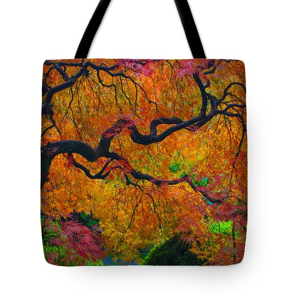 Enchanted Canopy Tote Bag by Patricia Babbitt