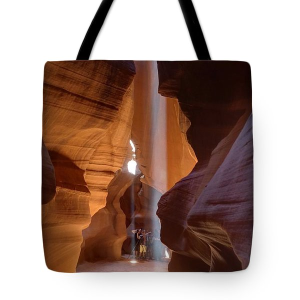 Tote Bag featuring the photograph Enchanted Cathedral by Peter Thoeny