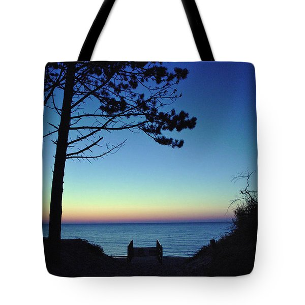 Tote Bag featuring the photograph Enchanted Evening On The Baltic Coast by Maja Sokolowska