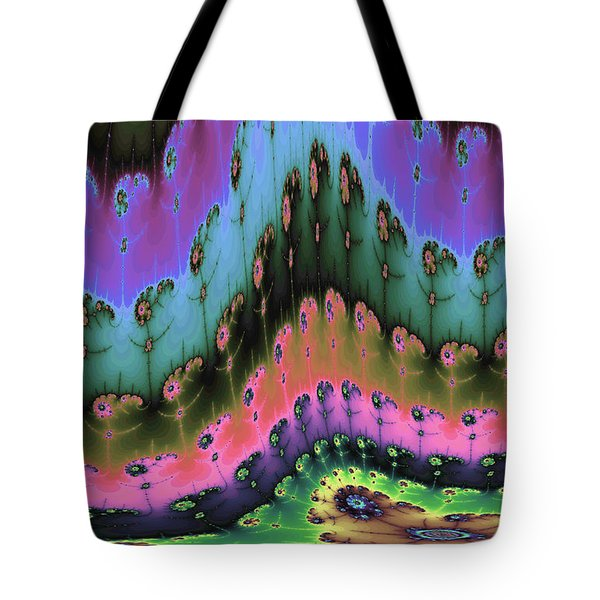Enchanted Forests Of A New World Tote Bag by Angela A Stanton
