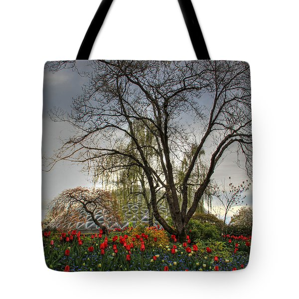 Tote Bag featuring the photograph Enchanted Garden by Eti Reid