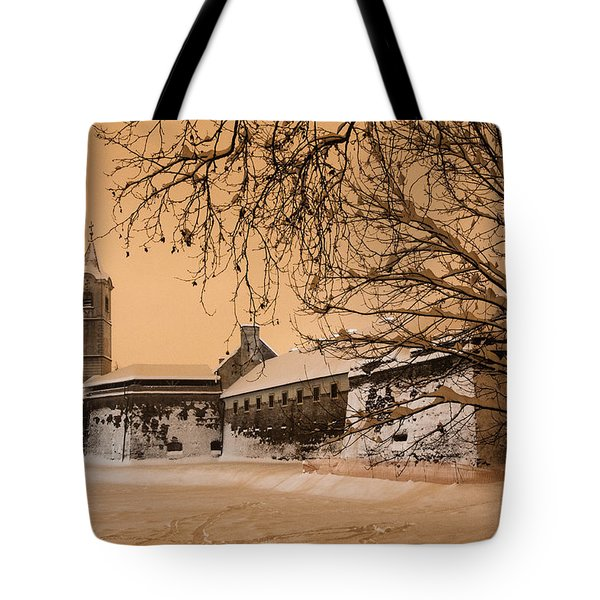 Enchanted Old Town Tote Bag by Davorin Mance