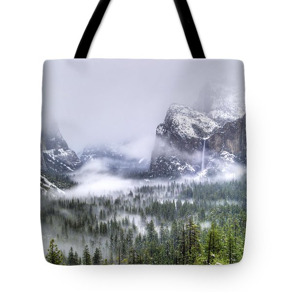 Enchanted Valley Tote Bag by Bill Gallagher