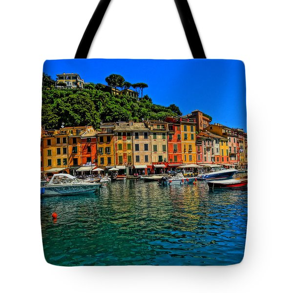 Enchanting Portofino In Ligure Italy II Tote Bag by M Bleichner