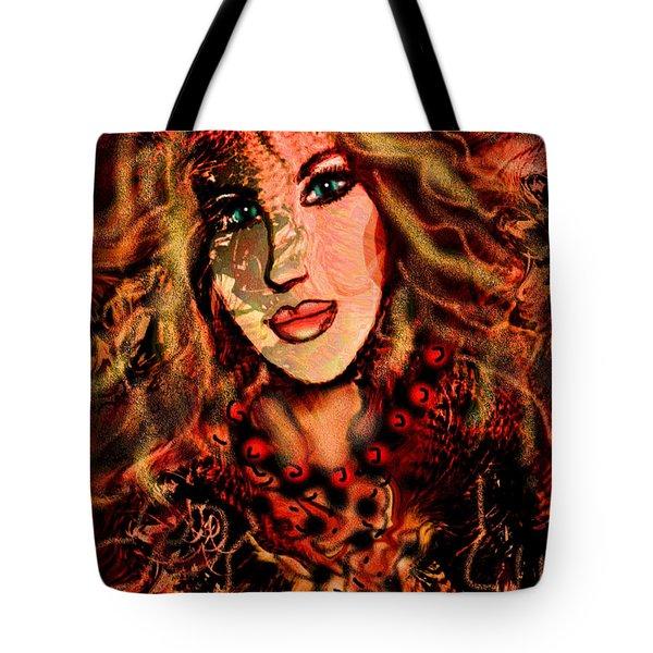Enchanting Woman Tote Bag by Natalie Holland