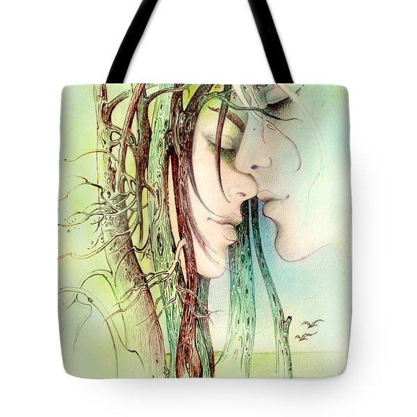 Encounter  From Love Angels Series Tote Bag