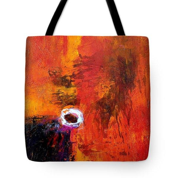 Tote Bag featuring the painting Encounter by Jim Whalen