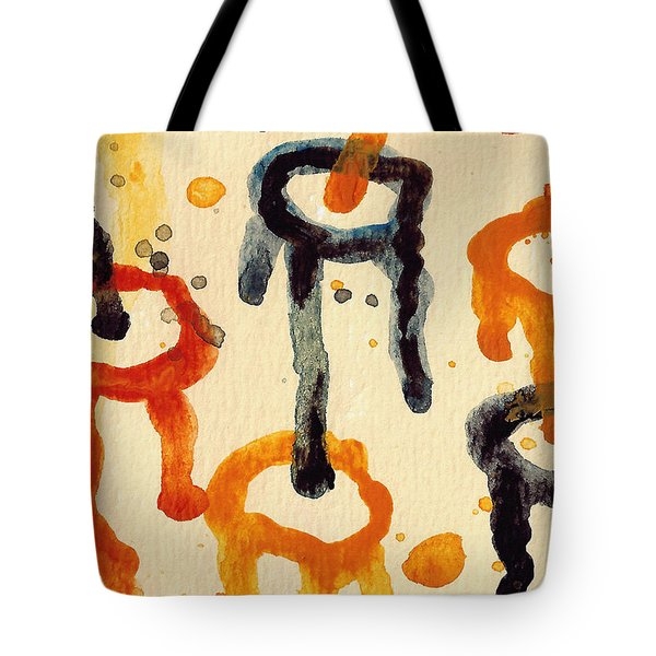 Encounters 4 Tote Bag by Amy Vangsgard