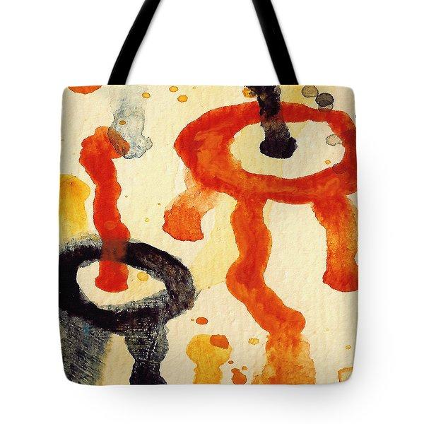 Encounters 8 Tote Bag by Amy Vangsgard