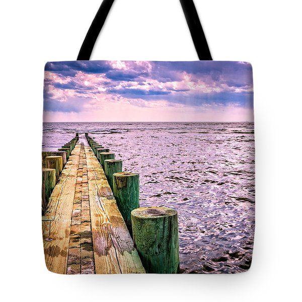 End Of A Glorious Day Tote Bag by Edward Fielding