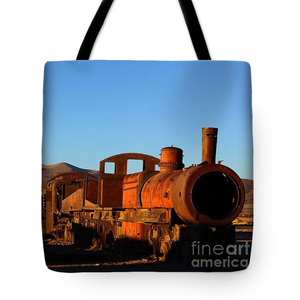 End Of An Era Tote Bag by James Brunker