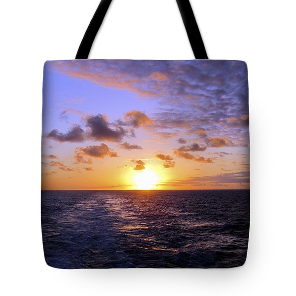 Hawaiian End Of Day Tote Bag