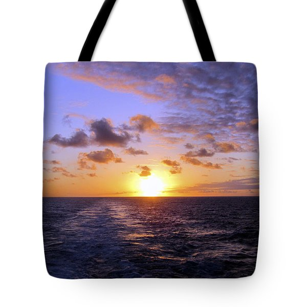 Hawaiian End Of Day Tote Bag