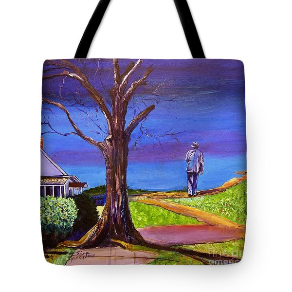 End Of Day Highway 98 Tote Bag
