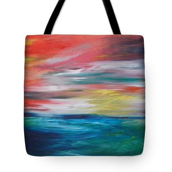 End Of Day Tote Bag by PainterArtist FIN