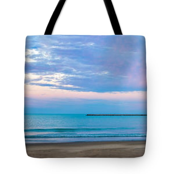 End Of The Blue Hour Tote Bag