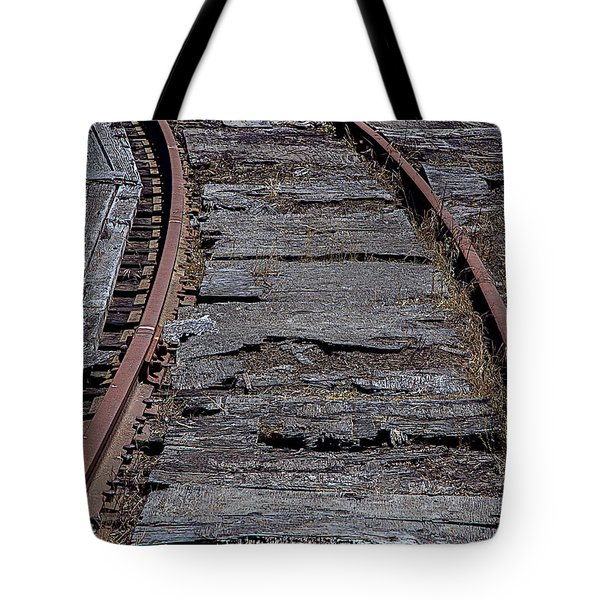 End Of The Line Tote Bag by Garry Gay