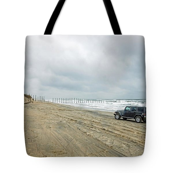 End Of The Road Tote Bag by Photographic Arts And Design Studio