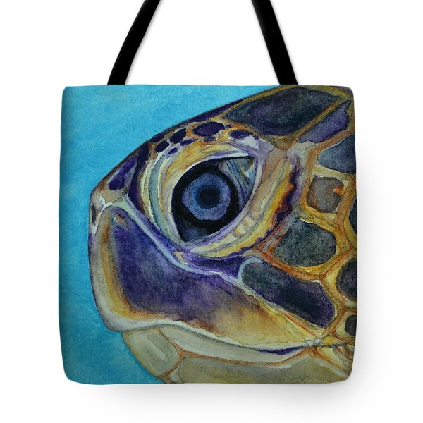 Eye Of The Honu Tote Bag