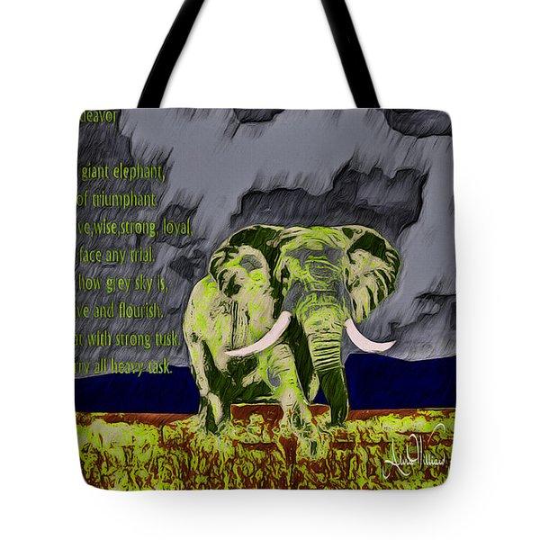 Endeavor  Tote Bag