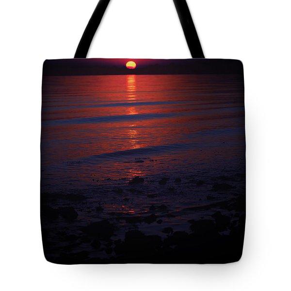 Ending Colors Tote Bag