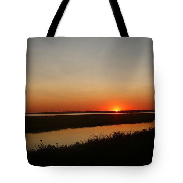 Ending Of A Day Tote Bag