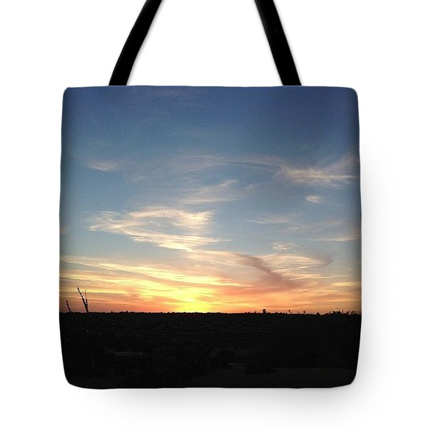 Ending The Day Tote Bag