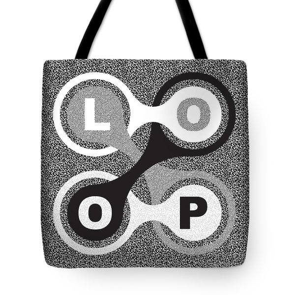 Endless Loop Tote Bag